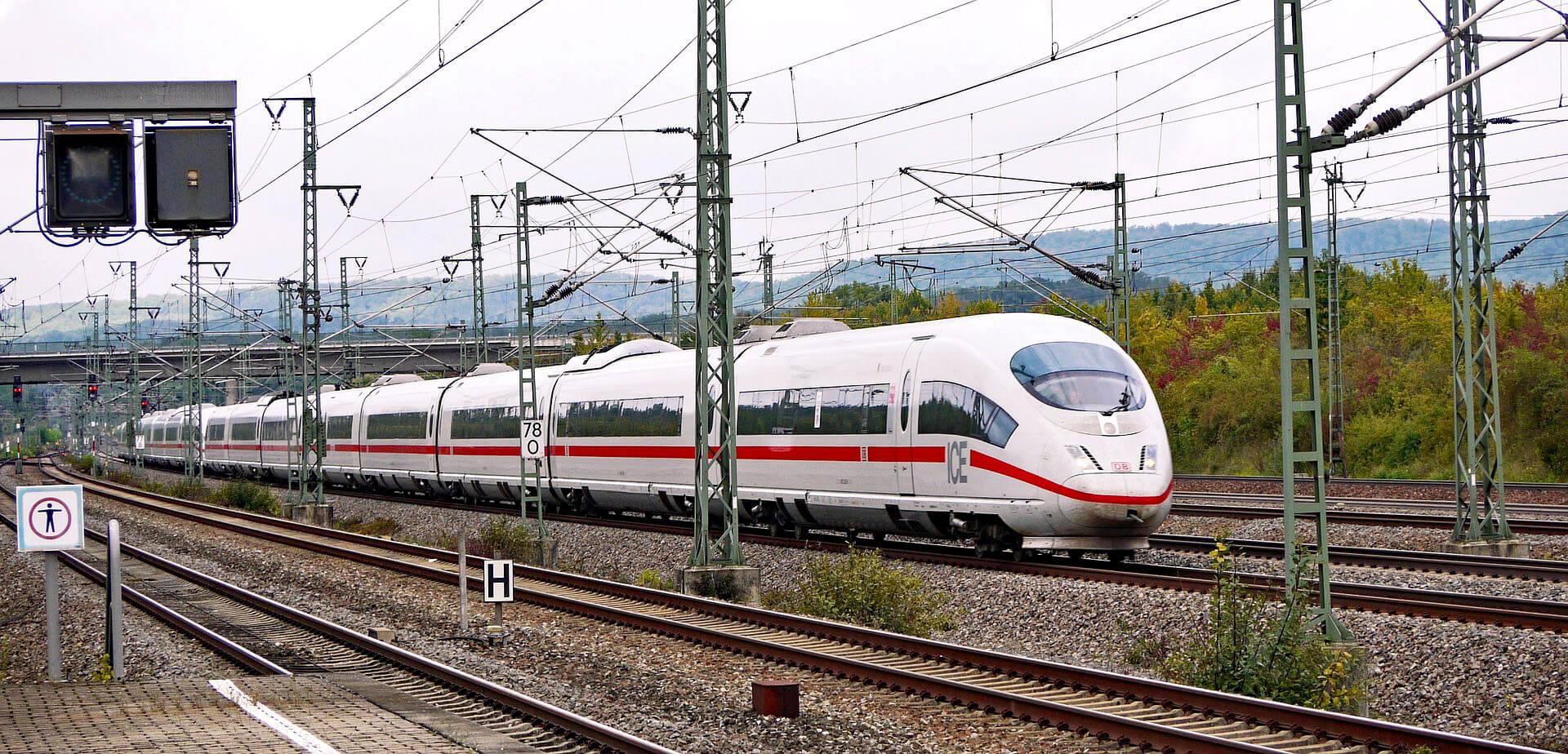Silikon für den Bahnverkehr