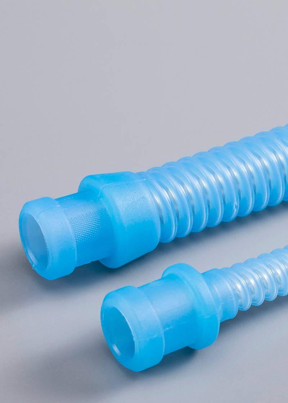 Tuyaux de respirateur en silicone