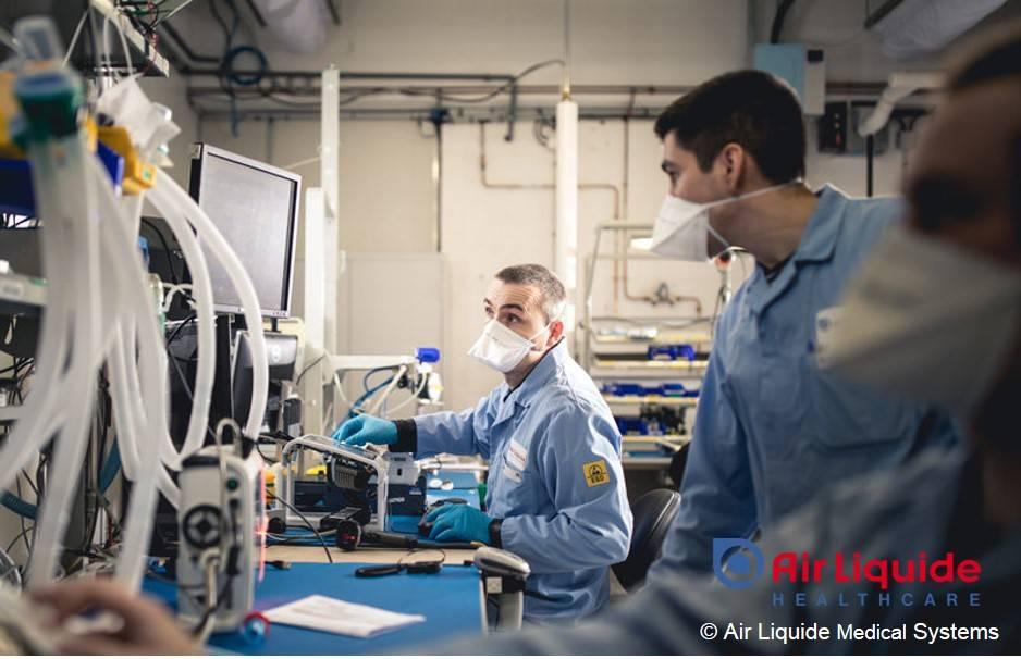 Siltec Silikonschläuche Air Liquide Beatmungsgeräte