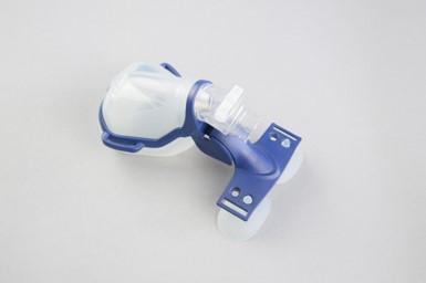 Siltec-Silikon-Thermoplast-Gesichtsmaske-Montiert