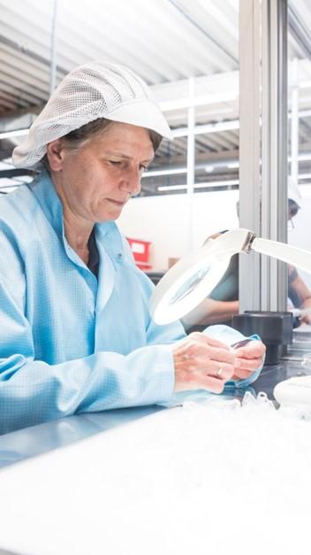 Silikonprodukte Qualitätskontrolle